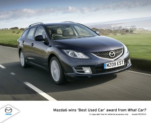 Mazda wins Best Used Car award