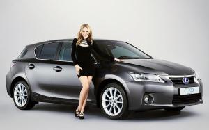 Kylie Minogue - face of the Lexus CT 200h launch campaign