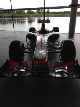 McLaren -car