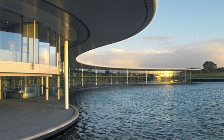 Outside the McLaren Technology Centre (Image: McLaren)