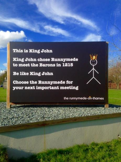 Be like King John